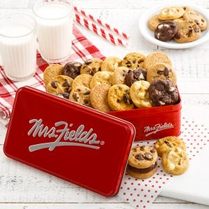 Mail Order Cookies in Gift Tin