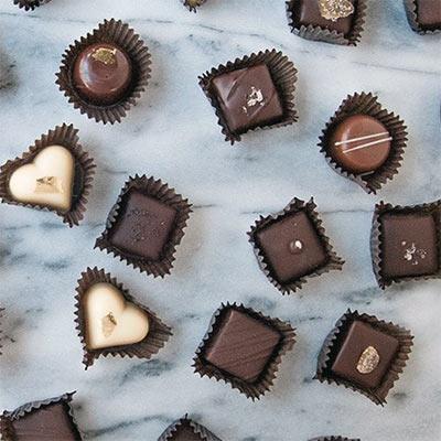 Black Dinah Assorted Chocolate Truffles