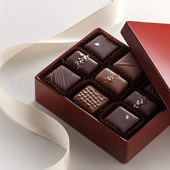 Gourmet Dark and Milk Salted Caramel Chocolate Gifts