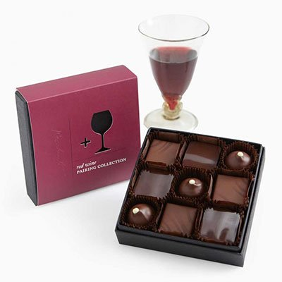 A Gift Box of Truffles to Pair with Red Wine