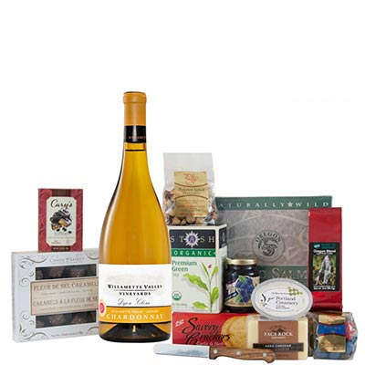 Willamette Valley Wine Gift Basket
