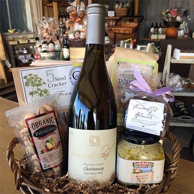 Summerland Chardonnay Wine Gift Basket