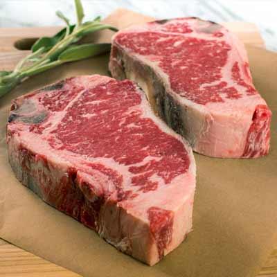 Mail Order Steaks Online, Prime Aged Strip Steak from DeBragga Butchers