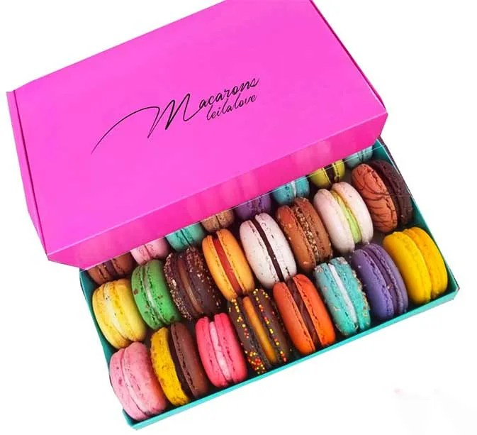 Colorful Macarons, best food gifts on Amazon