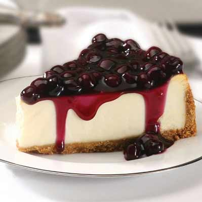 Blueberry Cheesecake Available on Amazon