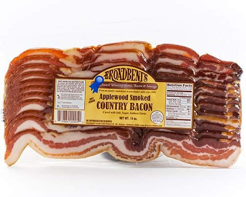 Country Smoked Bacon From Broadbent's Smokehouse