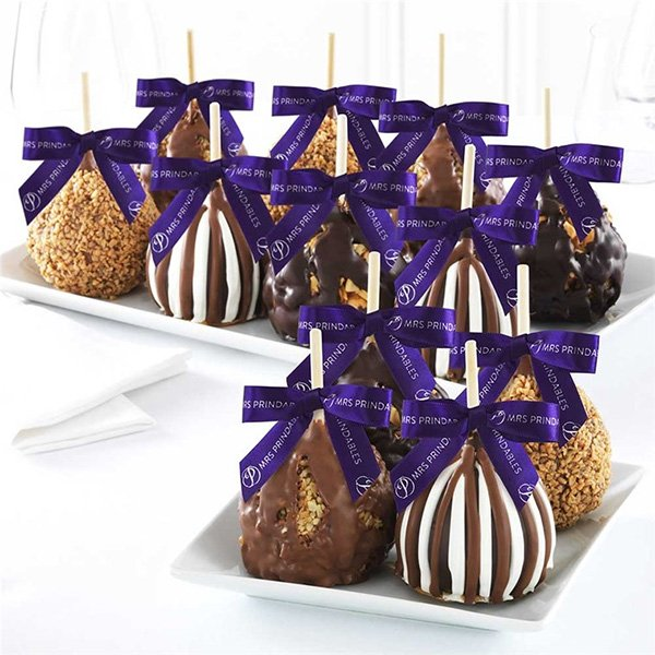 Mrs. Prindables Caramel Apple Gourmet Gifts Available on Amazon