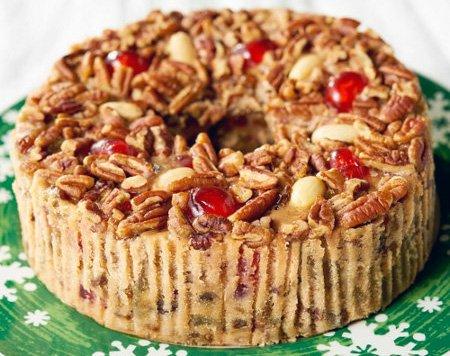 Grandma's 3 pound Fruit Cake Ring to Order Online
