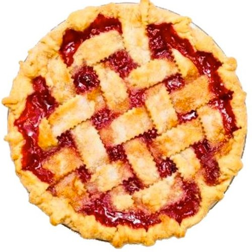Latice Top Crust Cherry Pie