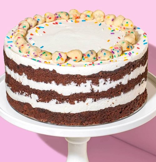 Rainbow Layer Cake to Order Online