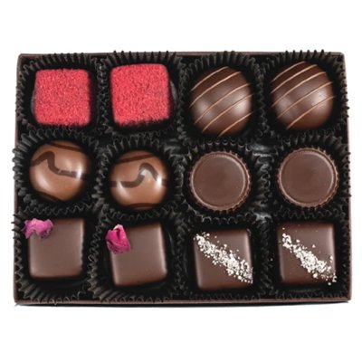 A Gift Box of Assorted Chocolates