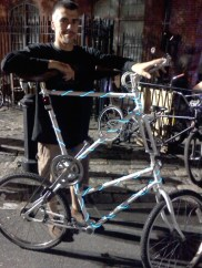 Custom bike at Art All Night Trenton 2013