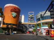 Big BASS beer on Fremont Street in Downtown Las Vegas #eatgostay