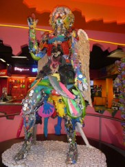 Toy Angel at Ripley's Believe it or not on Clifton Hill Niagara Falls Ontario Canada 2