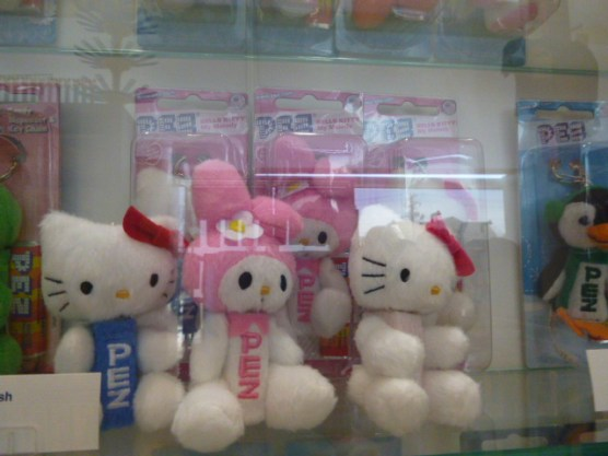 Hello Kitty plush PEZ dispensers