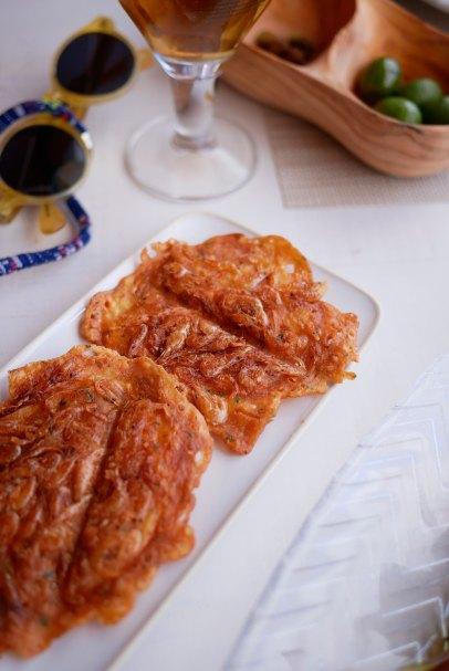 Tortitas de camarones - 1,5€/ud.
