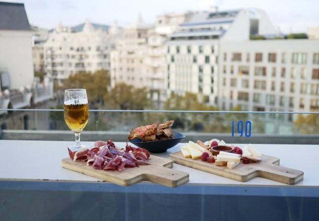 Terraza ALAIRE, el rooftop del Hotel Condes Barcelona