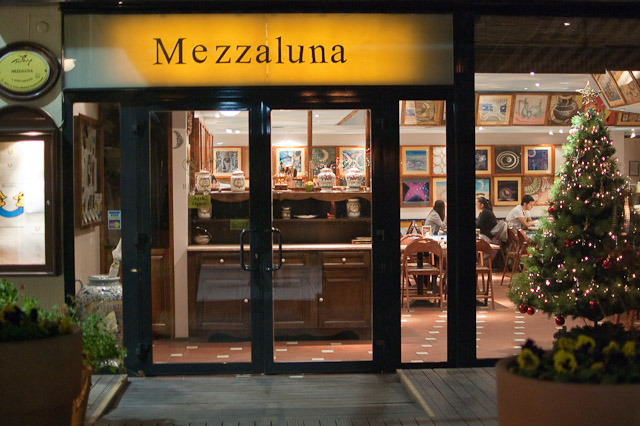 Mezzaluna  Eating Ankara