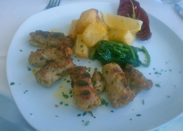 Veal rolls in Taormina were a revelation
