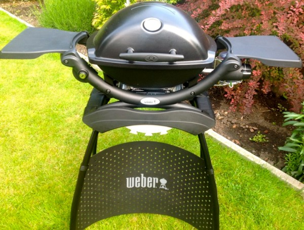 My lovely new barbecue in my sunny garden