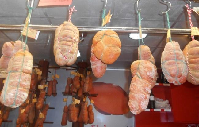 Traditional Mallorcian sausage called sobrasada