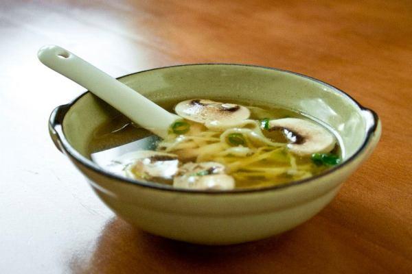 Benihana's famous onion soup
