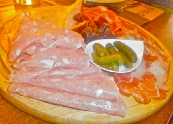 A wide range of Italian meats to delight