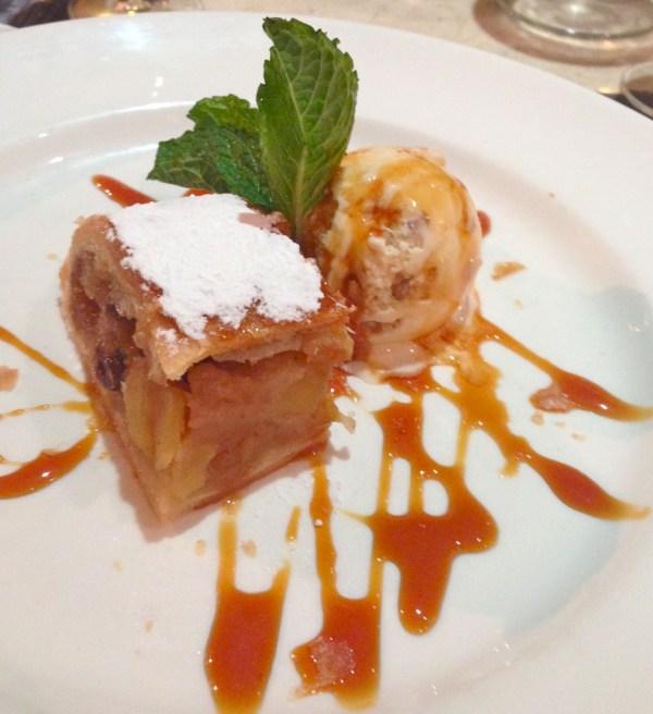 apple pudding