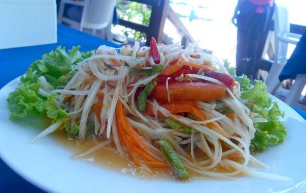 green papya salad