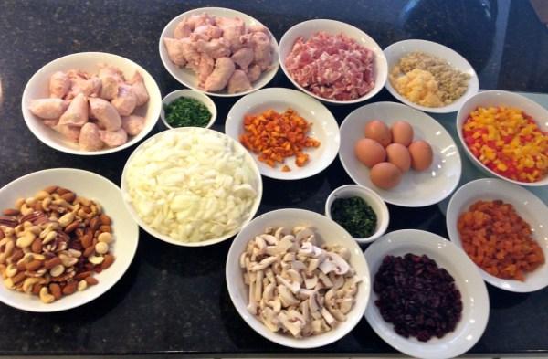 A cornucopia of ingredients