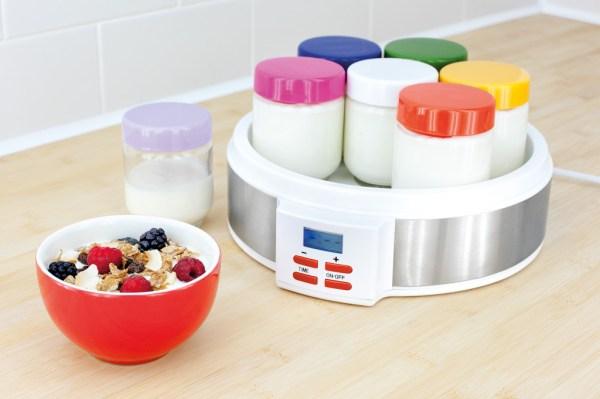 jea46 judge digital yoghurt maker 7x150ml - propped