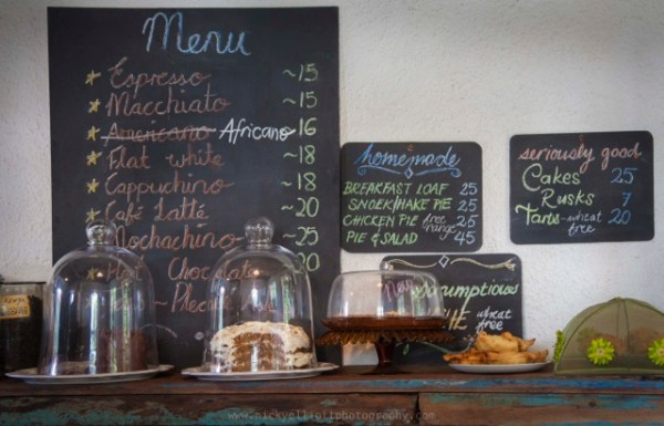 Hout Bay Coffee is a tucked away gem that roasts unique blends on site with African flair