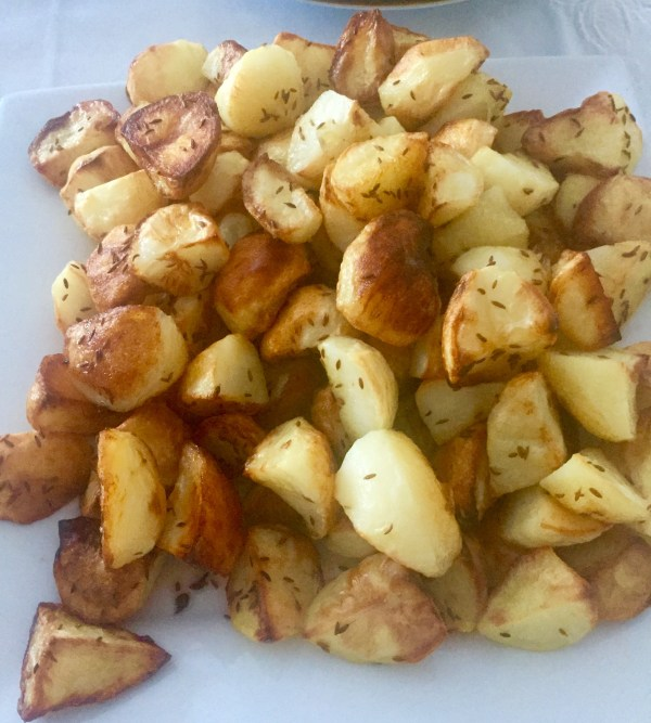 Recipe: cumin potatoes
