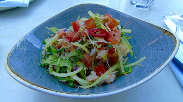 Bistro Vadouvan: crab salad