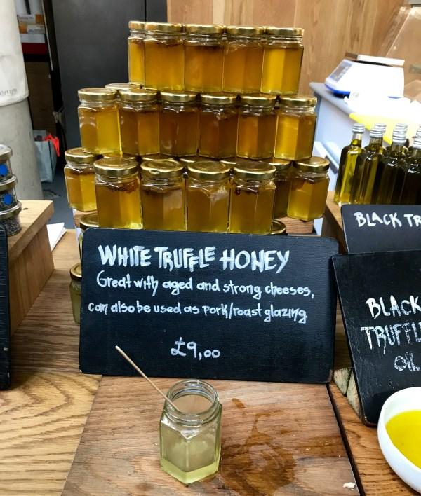 Borough Market: Truffle honey