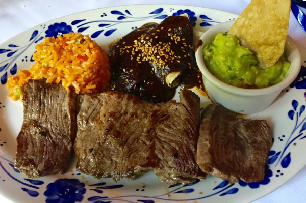 San Angel Inn: Mexican beef