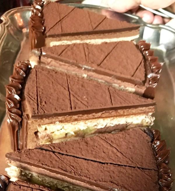 San Angel Inn: chocolate cake