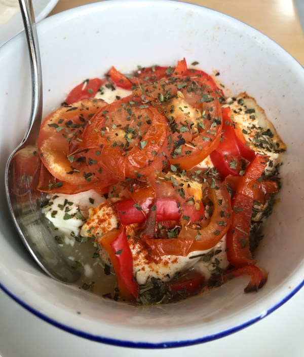 The Hungry Donkey: feta and tomato