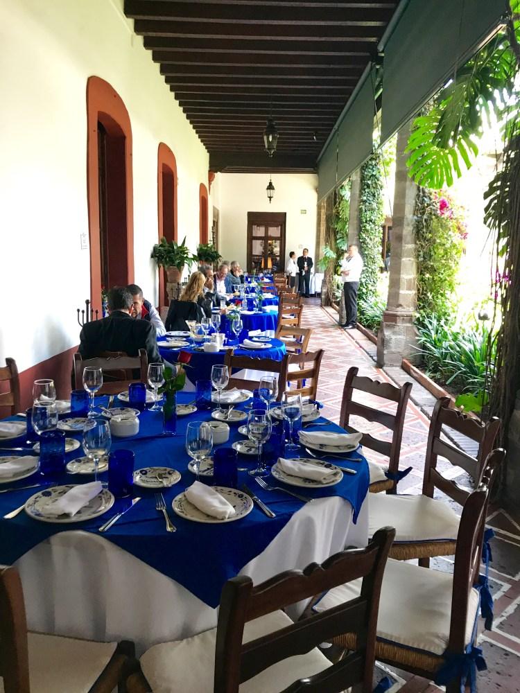 San Angel Inn: verandah