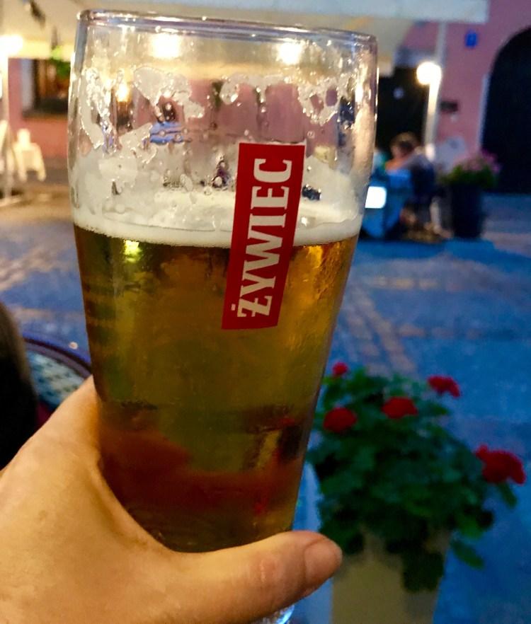 Warsaw: beer