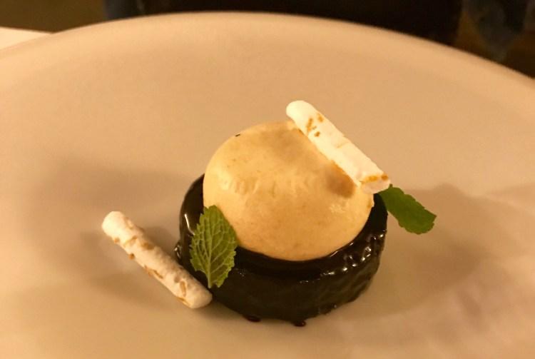 Copernicus: plum dessert