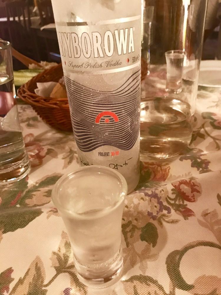 Warsaw: vodka