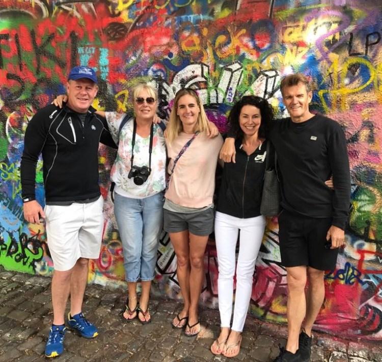 Prague: Lennon Wall