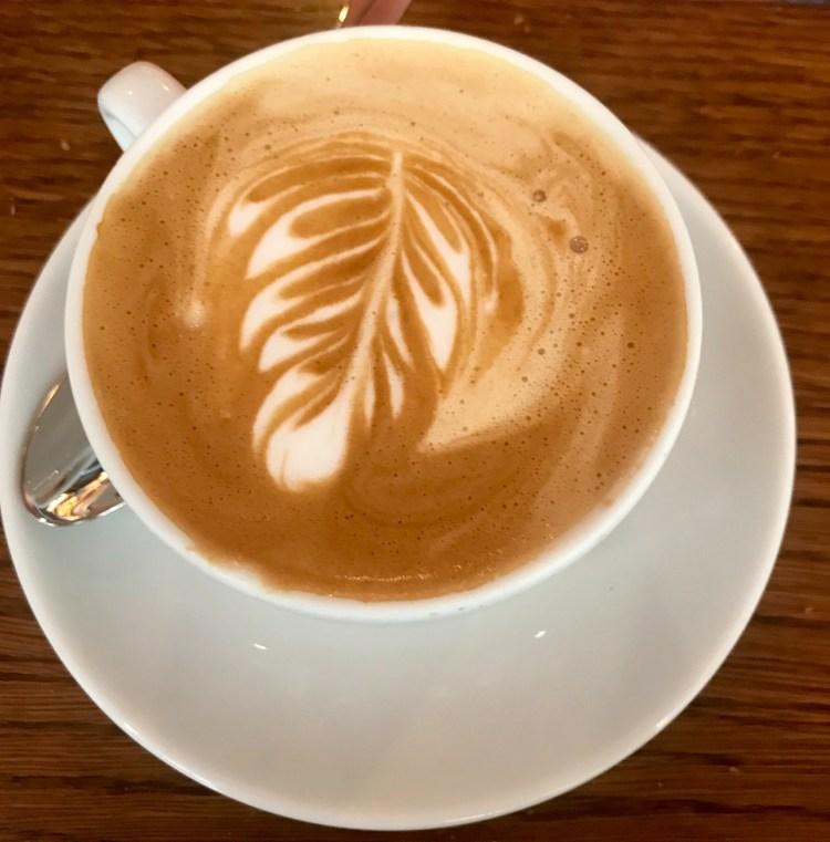 La Bottega di Finestra: cappuccino