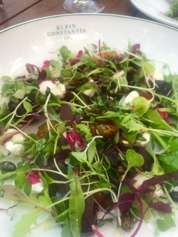 Klein Constantia: Salad