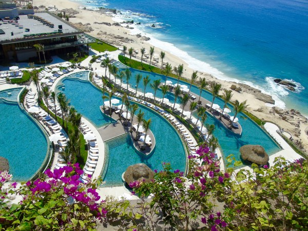 Grand Velas: balcony view
