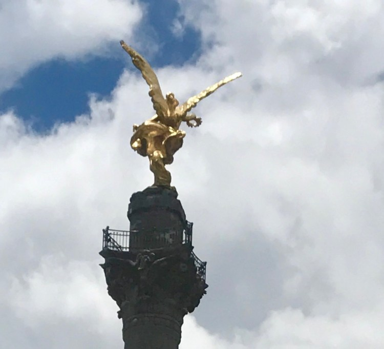 Mexico City: angel of independence