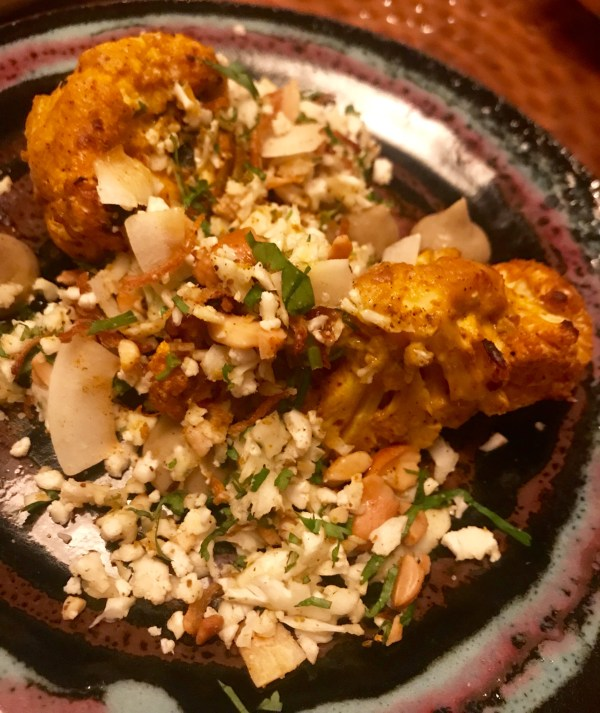 Thali: Cauliflower