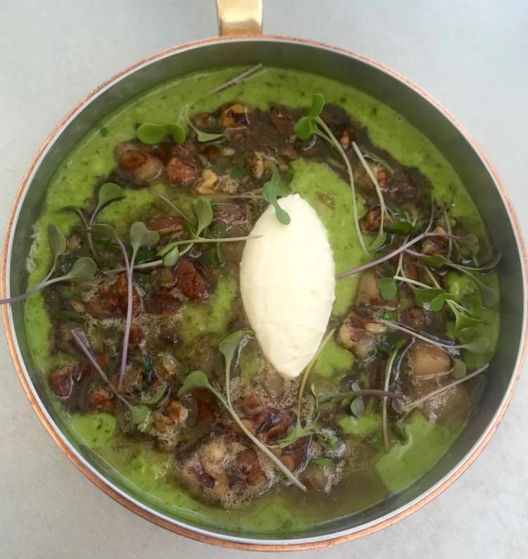 Beau Constantia: parsley risotto