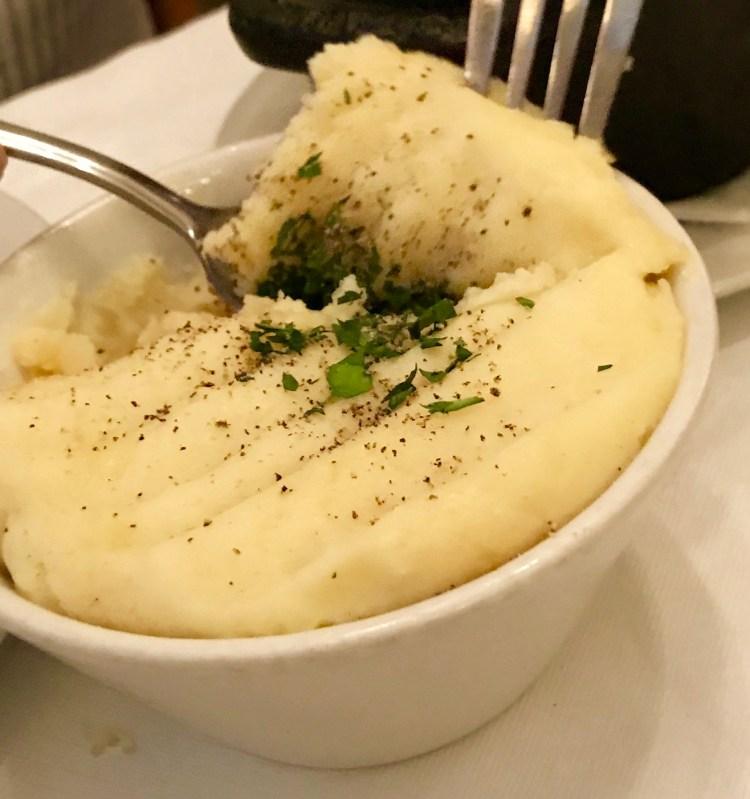 Boulevard Brasserie: mash potato